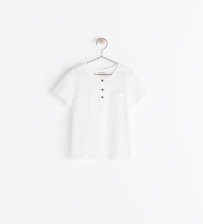 T-shirt Basique Blanc 4,95€