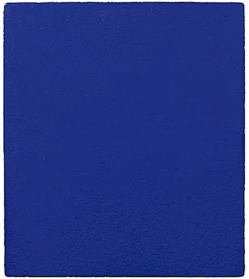 Monochrome Bleu Yves Klein, 1960