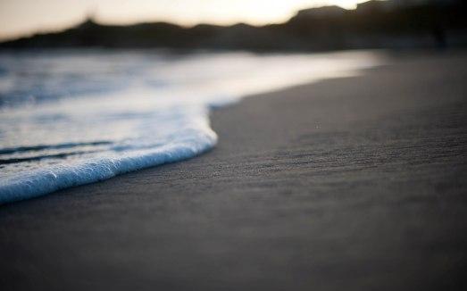 écume plage