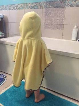 poncho de bain slumbersac zoo