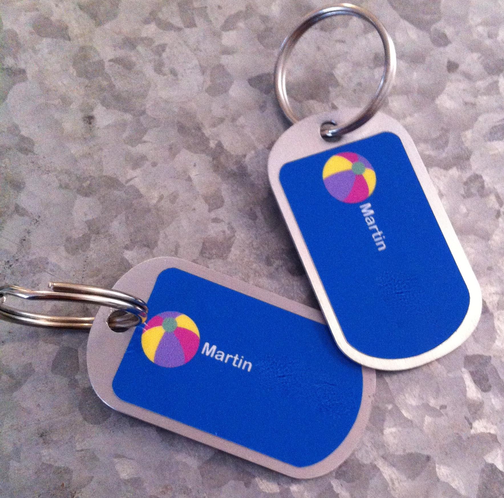 porte-clefs personnalisé